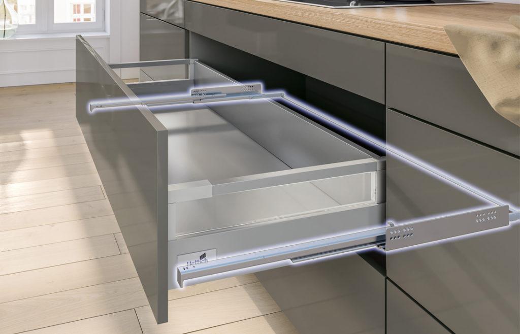 Кухоные ящики с уникальной системой выдвижных ящиков долгопрудный