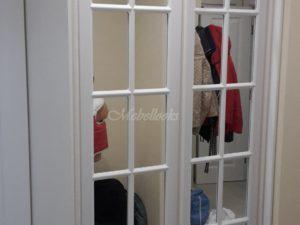 шкаф-купе Ленсойс классические зеркальные фасады в долгопрудном, лобне, химках