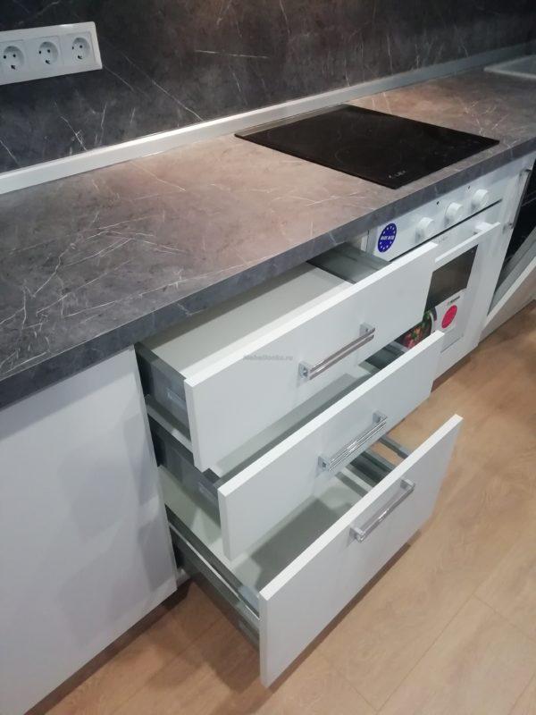 Кухня Метрополитен матовая 045 в Долгопрудном