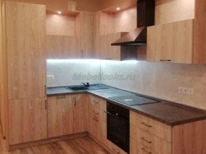 Кухня Малибу TSS EL SOL 022 на заказ в Долгопрудном и Москве